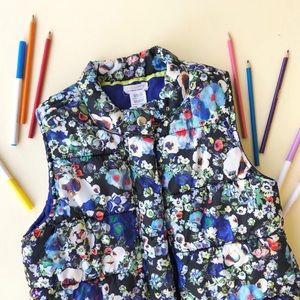 Girls Cynthia Rowley Dreampop Puffer Vest